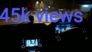 MAHINDRA scorpio speed check night drive
