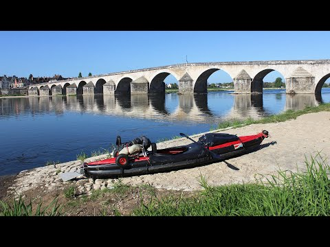 Loire im Luftboot (680 km Frankreich) von Roanne bis Nantes