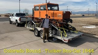 Colorado and Back - lets get that Tucker Sno-Cat