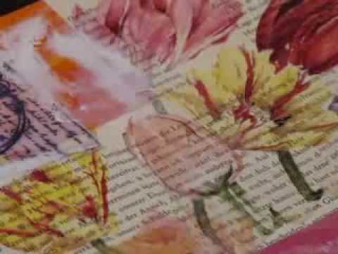 Mixed Media-Art Journal-02-Cover (deutsche Version/German version)