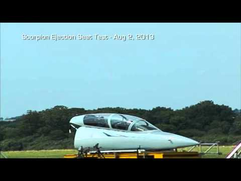 Scorpion Jet - Ejection Seat Testing