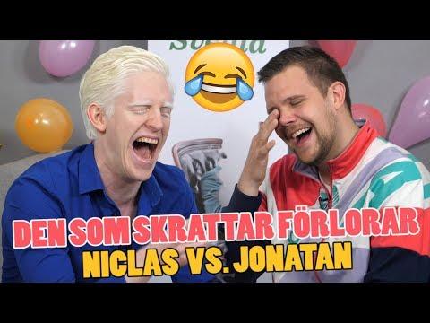 Den som skrattar förlorar – Torra skämt och ordvitsar med Niclas och Jonatan