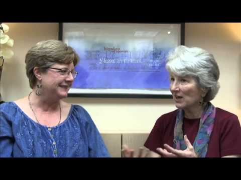 Vinita Hampton Wright and Susan Vogt Discuss Blessed By Less