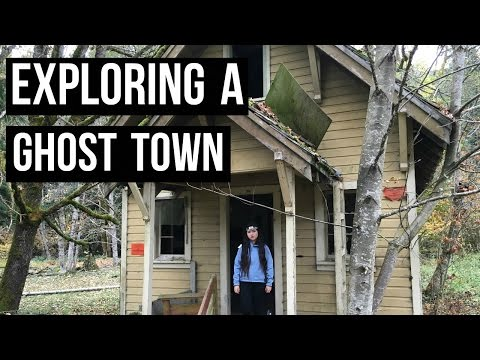 EXPLORING A HAUNTED GHOST TOWN | Lester, Washington