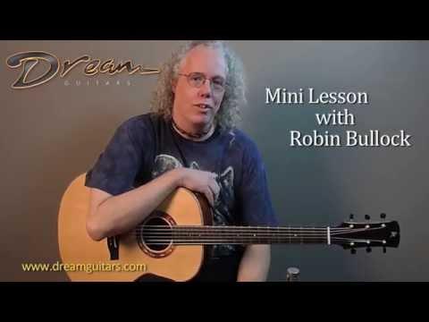 Dream Guitars Lesson - Harp-Style Playing Pt1 - Robin Bullock