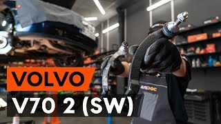 Tie rod end installation VOLVO V70: video manual