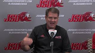 Jacksonville State Football 2018 - Weekly Press Conference - Week 8