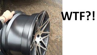Широкие диски на Honda. Резина стрейч. Покраска дисков в Plasti Dip. Пока жидкая резина. Cерия #4