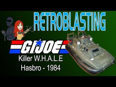 G.I. Joe Killer W.H.A.L.E. Hovercraft Vintage Toy Review Hasbro 1984
