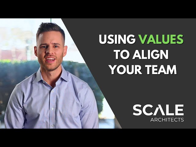 How to use values to align your team