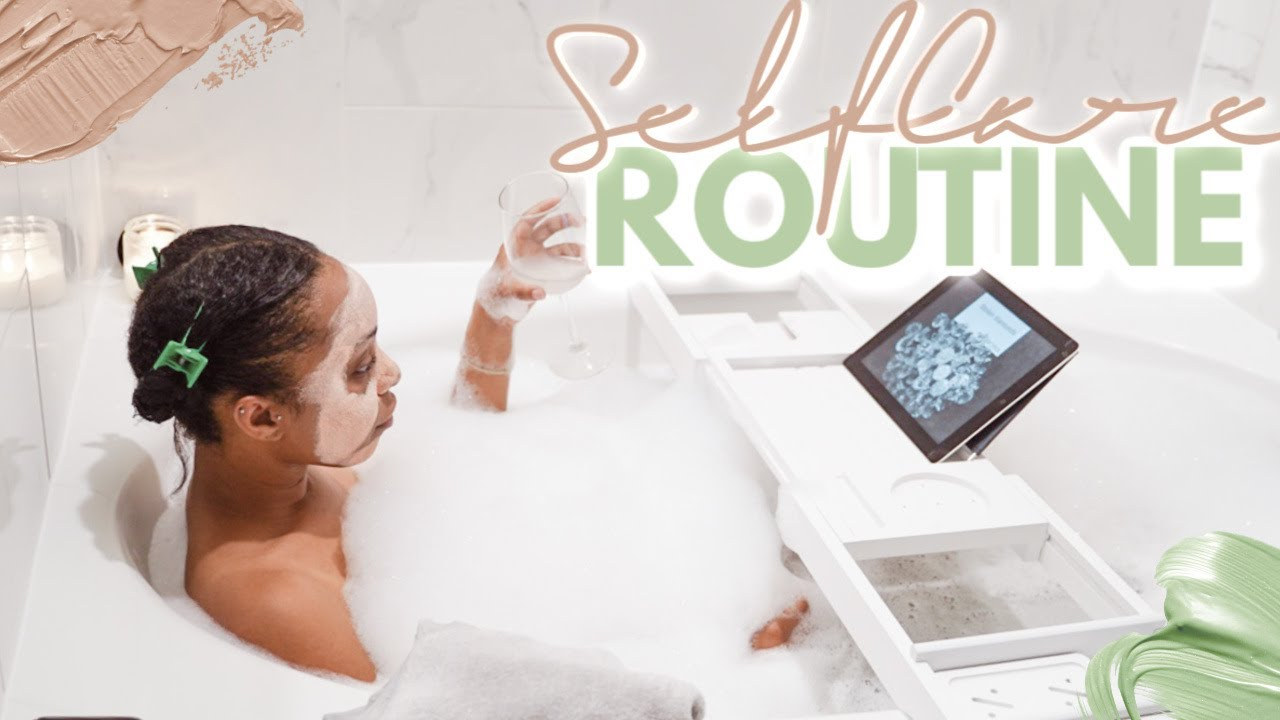 My At Home Self-Care Routine!   How To Recharge & Relax During Quarantine