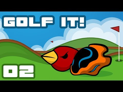 Let's Play Golf It! [Multiplayer] - PC Gameplay Part 2 - Beautiful Broken Nonsense