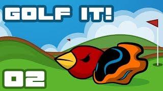 Let's Play Golf It! [Multiplayer] - PC Gameplay Part 2 - Beautiful Broken Nonsense