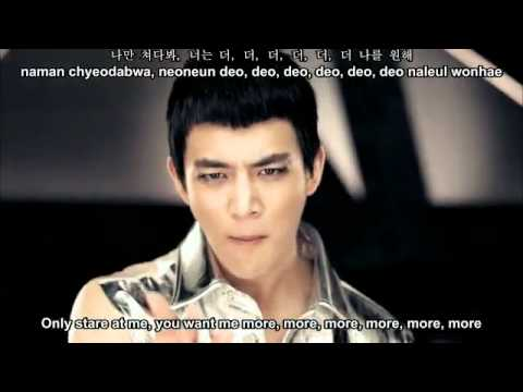 SHINee - Lucifer MV [english Subs + Romanization + Hangul]