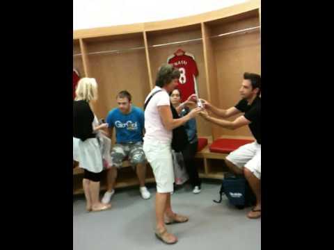 Emirates Stadium Arsenal - Changing room