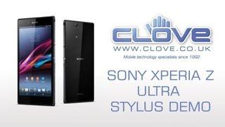 Sony Xperia Z Ultra - Stylus Demo