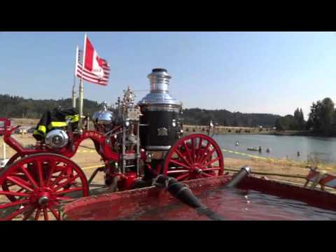 Steam Fire Engine: 1899 American Steam Fire Engine; Restored and working