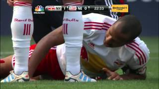 Thierry Henry injured - Goal scoring leader pulls hamstring as the Red Bulls take on the Revolution