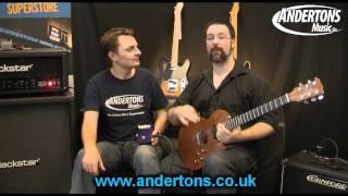 Freekish Blues M22 Rock Crusher Pedal Demo
