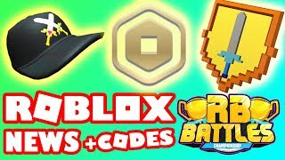 ROBLOX NEWS | Promo Codes September 2019, RB Battles Event, New Robux Icon, Roblox Premium