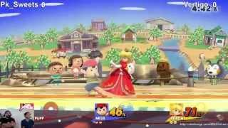 2GG Online #1 - PK Sweets (Ness) Vs. Vertigo (Peach) - Smash Wii U
