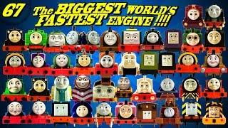The BIGGEST World's FASTEST Engine Thomas and Friends 67 Trackmaster ThomasToyTrains