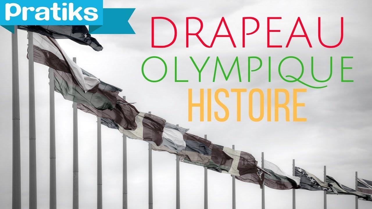 bon out x matériaux de qualité supérieure taille 40 Jeux Olympiques : L'histoire du drapeau olympique