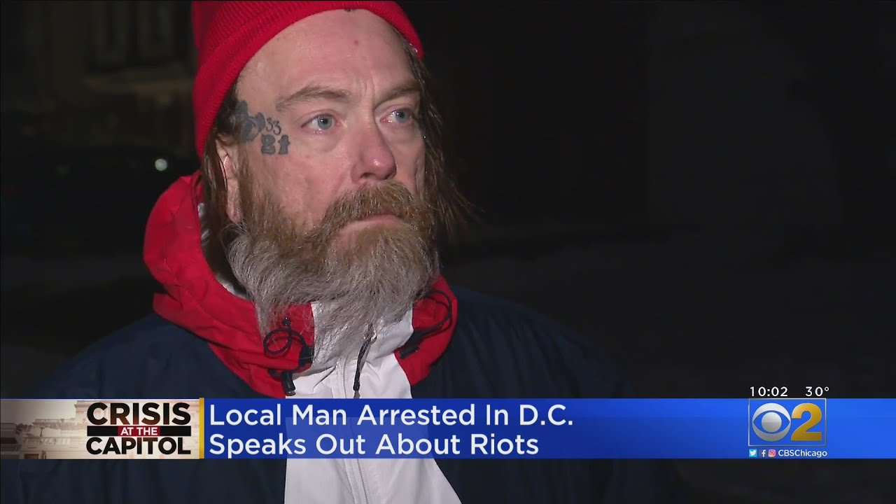 Roselle Man Arrested In Capitol Riot Says He Has No Regrets