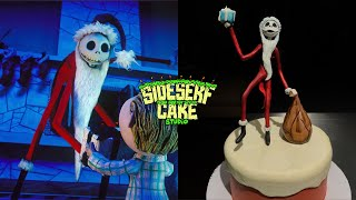 Making A Jack Skellington CAKE Topper | A Nightmare Before Christmas