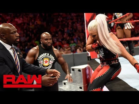Dana Brooke is finished with Titus Worldwide: Raw, Sept. 3, 2018