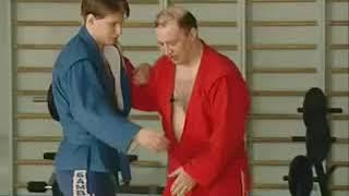 Уроки самбо Гончаров 02   Передняя подножка