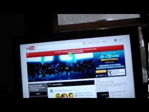 Xbox 360 Internet Explorer 9 Video Player Youtube