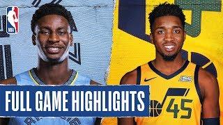 GRIZZLIES at JAZZ   FULL GAME HIGHLIGHTS   December 7, 2019