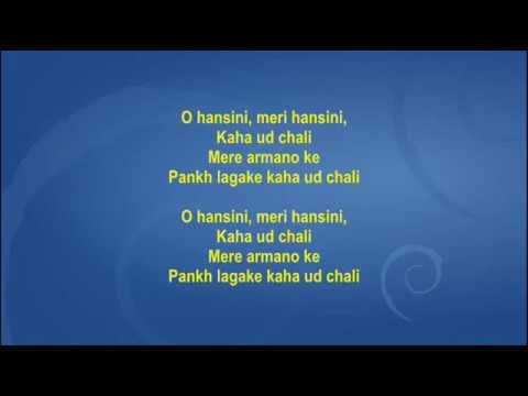 O Hansini -  Zehereela Insaan - Full Karaoke