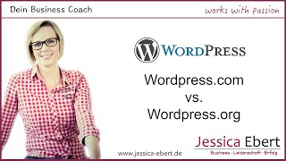 Wordpress.com vs. Wordpress.org - Was brauchst du?
