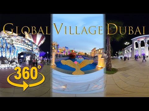 360 video | Global Village Dubai 2020