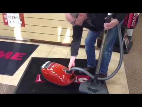 miele s8 cat dog vacuum at kingdom vacuum youtube. Black Bedroom Furniture Sets. Home Design Ideas