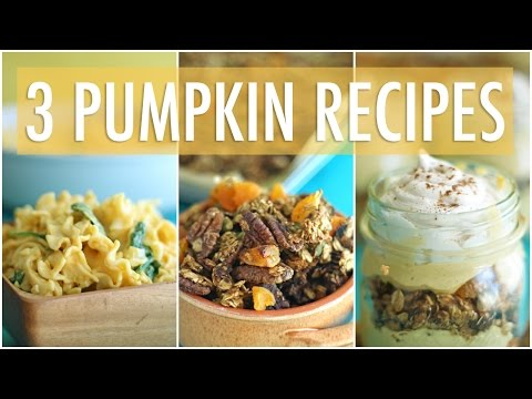 12 Nutritious Pumpkin Dishes Under 350 Calories