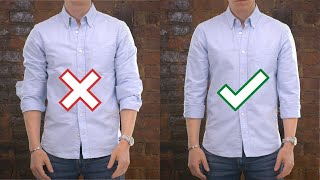 How to Roll Your Sleeves Up (and What NOT to Do)