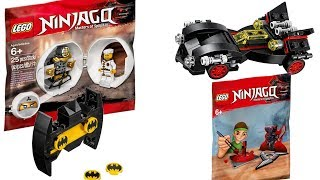 New Lego 2018 Polybags Official Images Revealed | Lego Ninjago, Lego Batman Movie