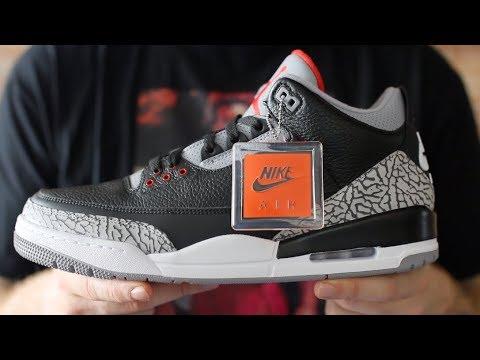 Air Jordan 3 De Cemento Negro 2,011 Vs 2,018 Torrente