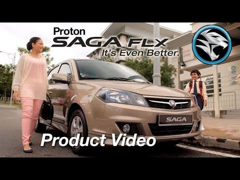 Video Produk Proton Saga FLX (2015)