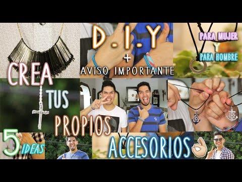 DIY: CREA TUS PROPIOS ACCESORIOS  + AVISO IMPORTANTE