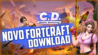 Fortcraft/Creative Destruction Download Copia de Fortnite Mobile