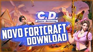 Fortcraft/Creative Destruction Download Copia de Fortnite Mobile