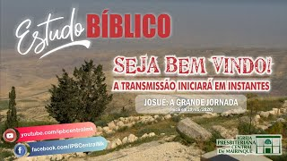 Estudo Bíblico - A grande jornada (Cap. 11)