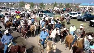Cabalgata en Dodge City Ks 2012