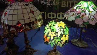 видео Витражный фонарь на потолке