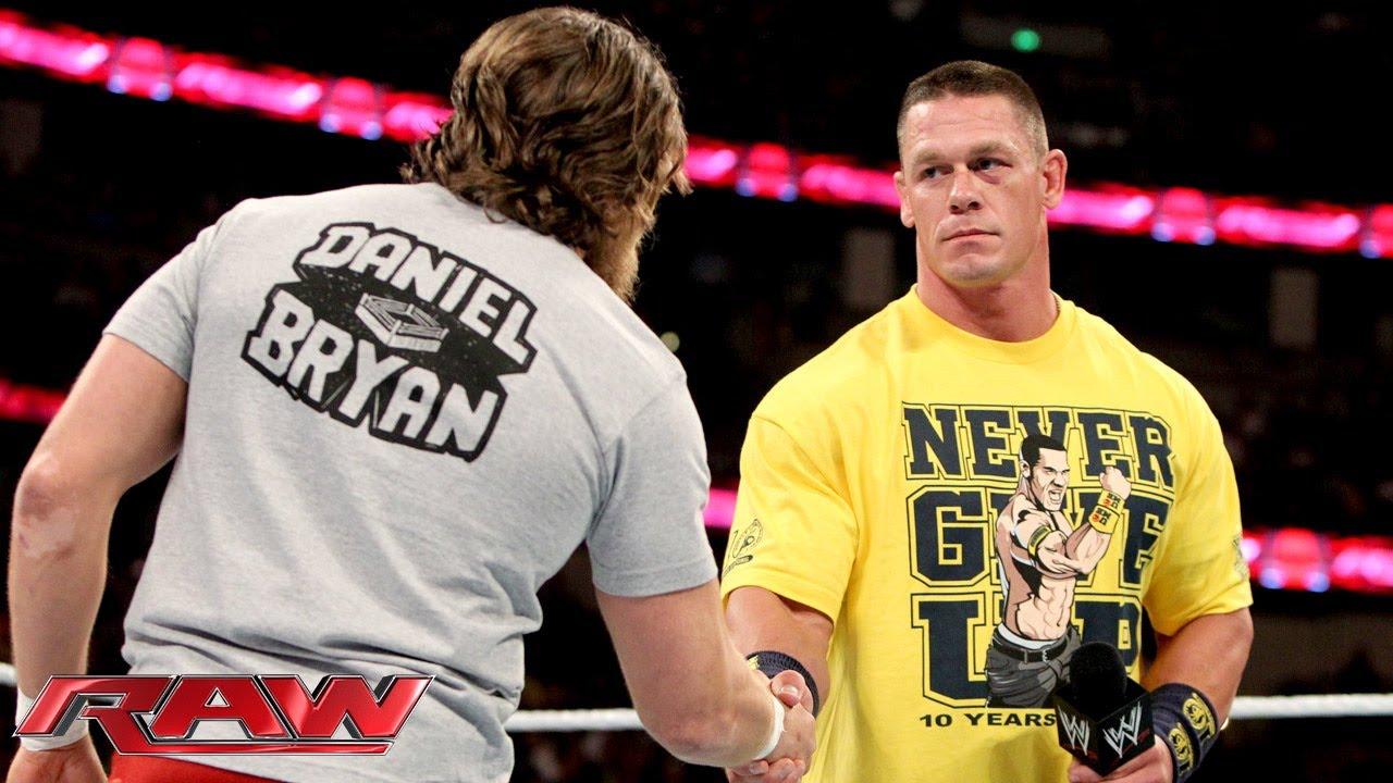 John Cena declares Daniel Bryan the legitimate WWE ...John Cena Wwe Champion 2013 Champ Is Here