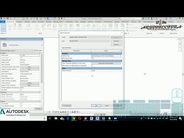 Curso básico de Revit | 05 Información básica sobre la interfaz gráfica